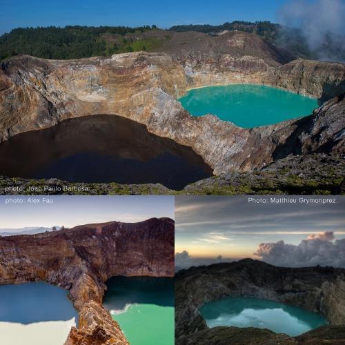 drie kleuren, drie meren, een berg