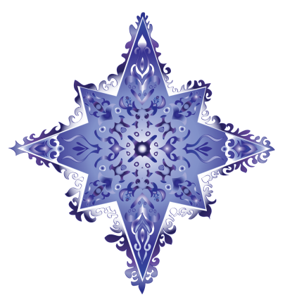 colorful star-indigo