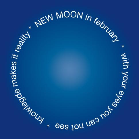 new moon February 2018