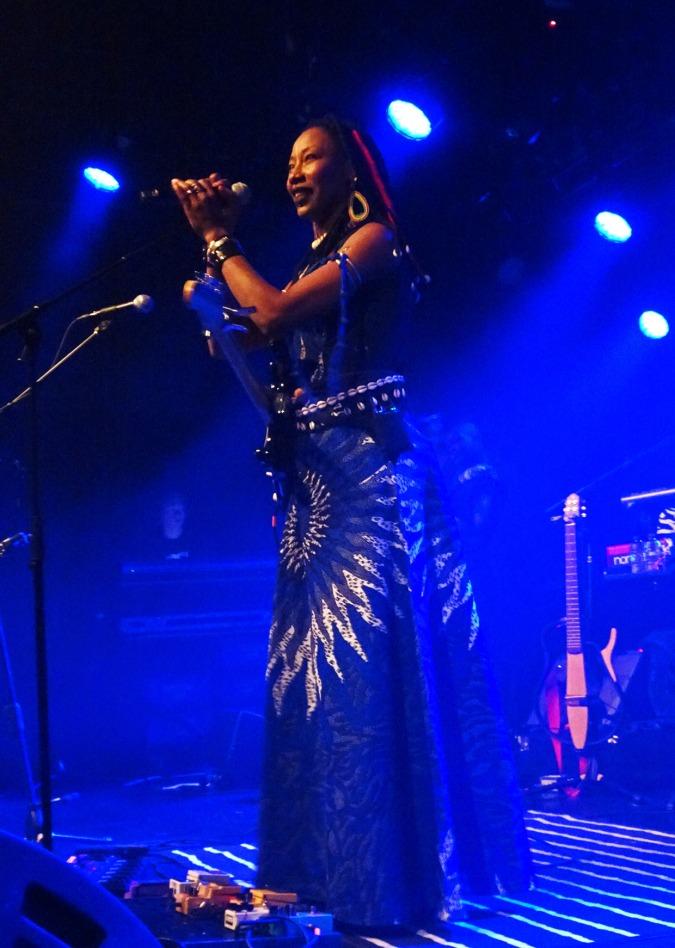 Fatoumata Diawara - photo Monique Ravensberg