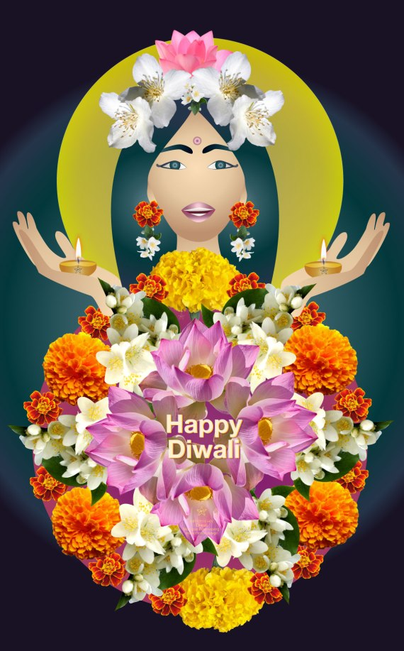 illustration for #Diwali 2018 by MRSTAR