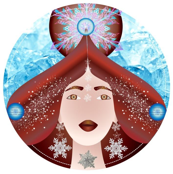 Full moon Illustration by Monique Ravensberg for MRSTAR