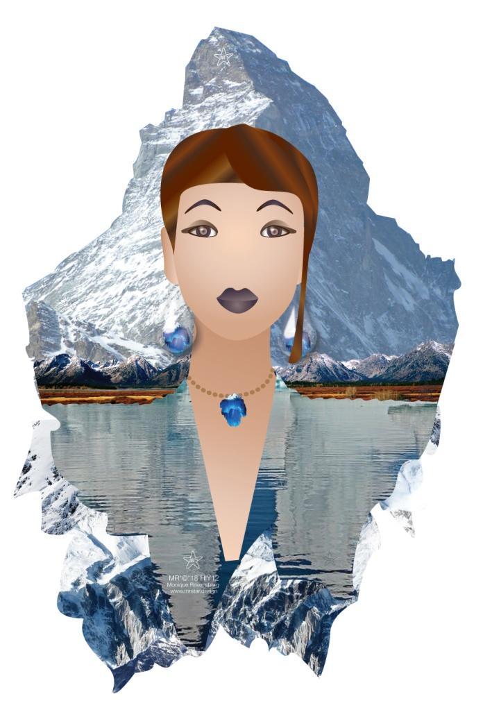 illustration by Monique Ravensberg - #MRSTAR for international mountain day