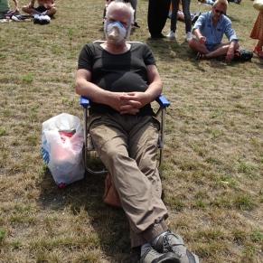 Freedom-Den-Haag-demonstrator