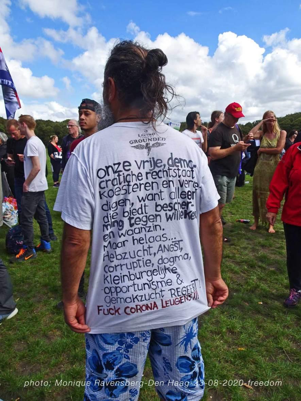 Freedom-Den-Haag-text-T-shirt
