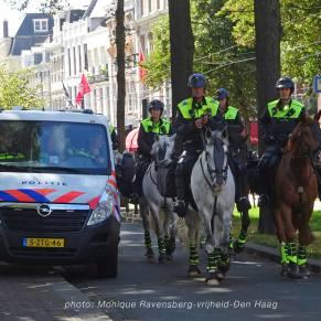 Vrijheid-20-augustus-2020--Den-Haag-politie