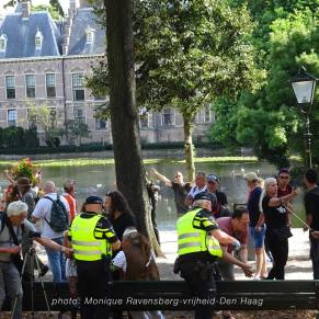 Vrijheid-20-augustus-2020--Den-Haag-wounded-man