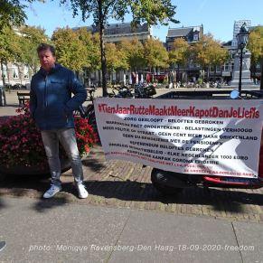 Freedom-Den-Haag-180920-one-man-2