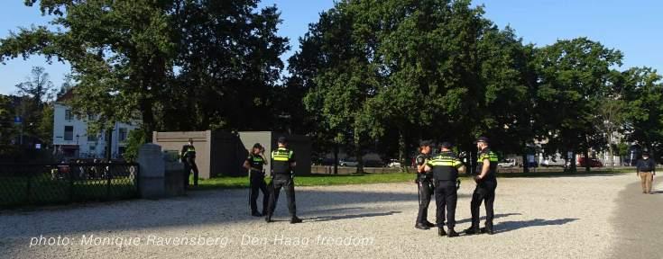 Freedom-Den-Haag-prinsjesdag-police