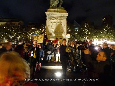 Freedom-Den-Haag-061020-speech-Frank-Ruesink