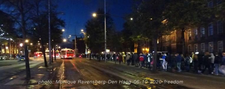 Freedom-Den-Haag-061020-walk