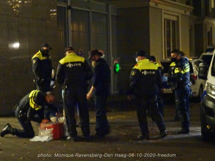 Freedom-Den-Haag-081020-arrest2