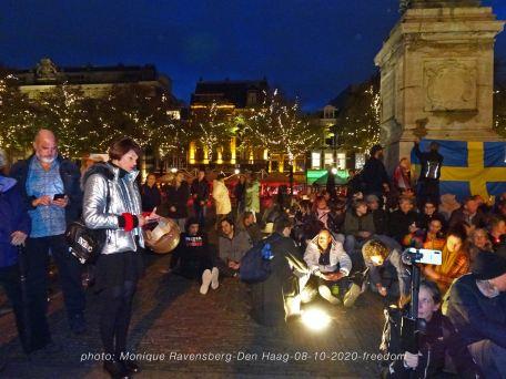 Freedom-Den-Haag-081020-sitdown