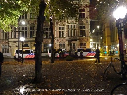 Freedom-Den-Haag-101020-police-force
