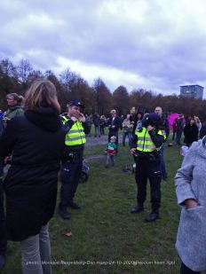 Freedom-Den-Haag-241020-police