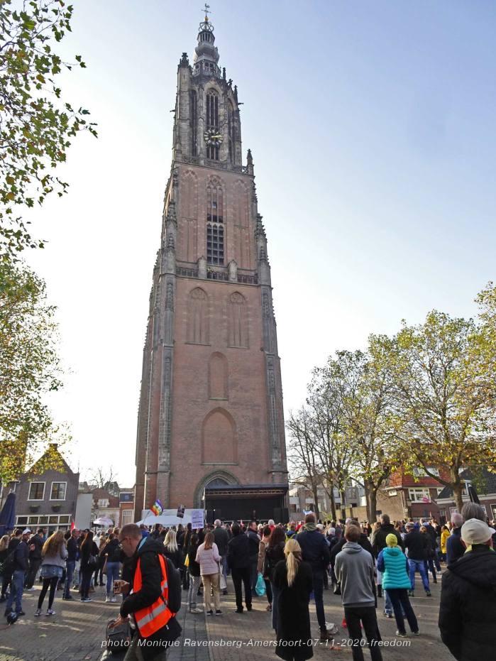 Freedom-Amersfoort-07-11-20-church-tower