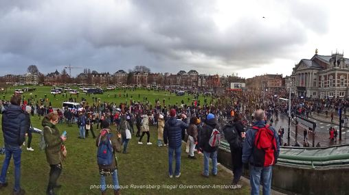 freedom-illegal-government-Amsterdam-17-1-21-panorama-police-brutality