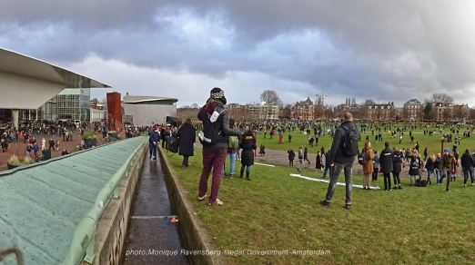 freedom-illegal-government-Amsterdam-17-1-21-panorama