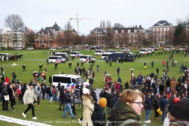 freedom-illegal-government-Amsterdam-17-1-21-police-war-strategy