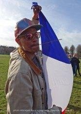 Freedom-stop-violence-The-Hague-Eldor-scence-&-flag