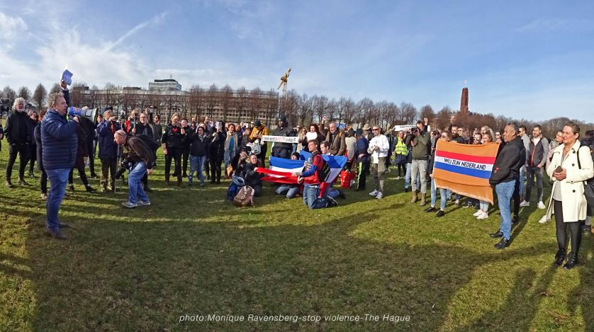 Freedom-stop-violence-The-Hague-panorama
