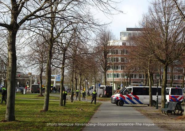 Freedom-stop-violence-The-Hague-police