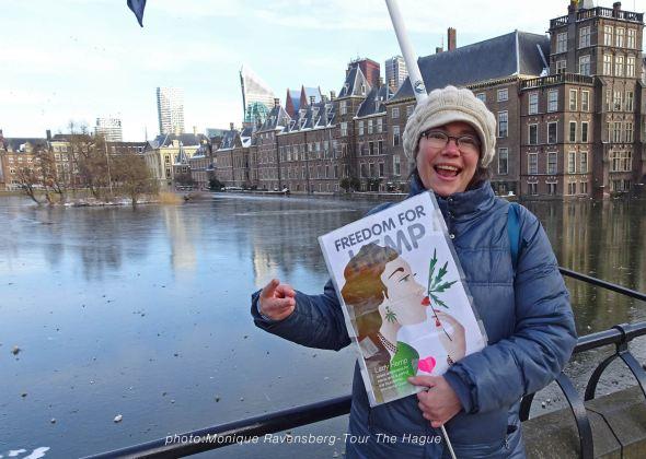 Freedom-Tour-the-Hague-Lady-Hemp