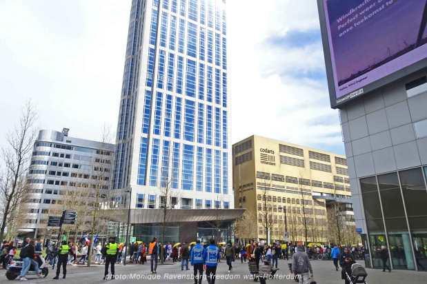 freedom-Rotterdam-walk-200424-Central-Station