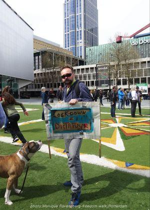 freedom-Rotterdam-walk-200424-dog-walk
