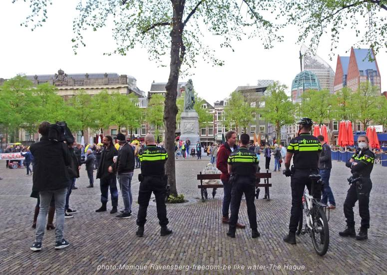Freedom-210510-The-Hague-police-view