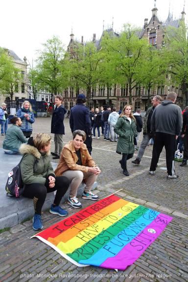 Freedom-210510-The-Hague-rainbow-flag