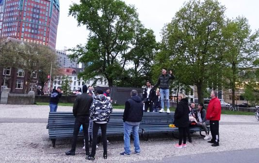 Freedom-210517-The-Hague-bench2