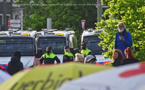 Freedom-210517-The-Hague-police