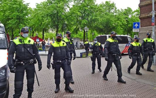 Freedom-210525-Den-Haag-police-chase2