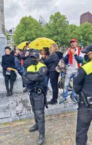 Freedom-210525-Den-Haag-police-line