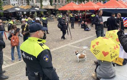 Freedom-210525-Den-Haag-police-overview