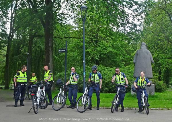 Freedom-210529-Rotterdam-police