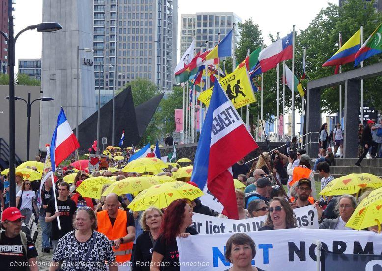 Freedom-210529-Rotterdam-yellow-umbrela