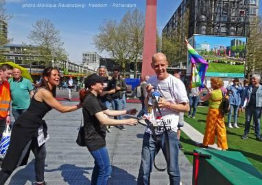 Freedom-march-210509-Rotterdam-fun