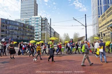 Freedom-march-210509-Rotterdam-Kruisplein