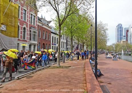 Freedom-march-210509-Rotterdam-Mauritsstraat