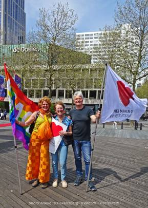 Freedom-march-210509-Rotterdam-mother1