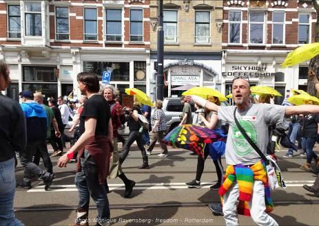 Freedom-march-210509-Rotterdam-Nieuwe-Binnenweg