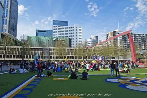 Freedom-march-210509-Rotterdam-Schouwburgplein2