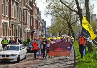 Freedom-march-210509-Rotterdam-sGravendijkwal