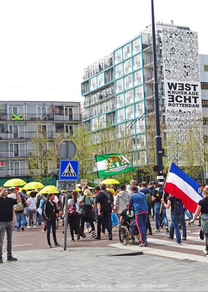 Freedom-march-210509-Rotterdam-West-Kruiskade