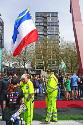 Freedom-march-210509-Rotterdam-yellow