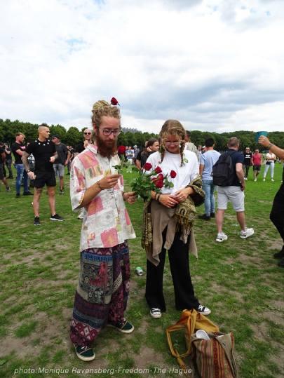 Freedom-210620-The-Hague-flower-hippie