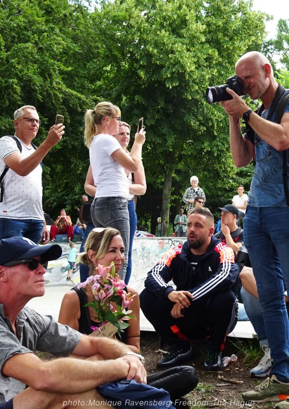 Freedom-210620-The-Hague-flowers