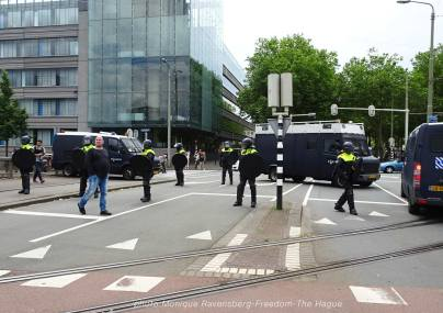 Freedom-210620-The-Hague-police-encirclement